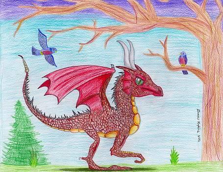 Rapty the Dragon by Grace