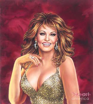 Raquel Welch by Dick Bobnick