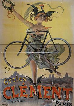 Edward Fielding - Rare Vintage Paris Cycle Poster