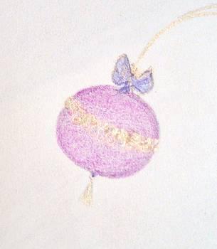 Raspberry Christmas Ornament by Christine Corretti
