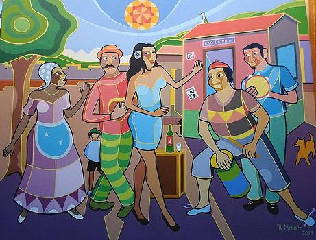 Raul Mendez Tema Esquina Do Samba 50x60 by Naifjunior Naifjunior