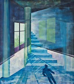 Raumirritation 14 by Gertrude Scheffler