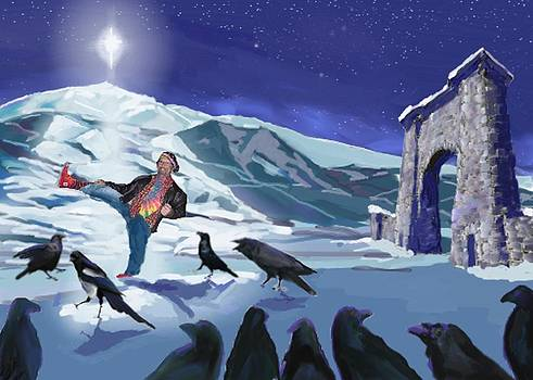 Raven Dance by Les Herman