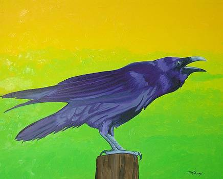 Raven Singing by John  Sweeney