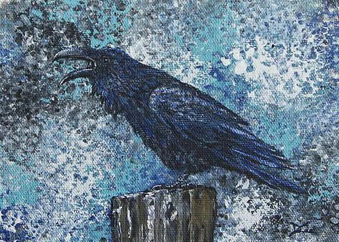 Dee Carpenter - Raven Study 3