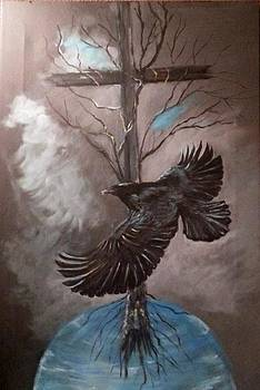 Raven Was There by Terry  Phillips