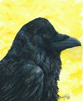 Raven Yellow by Christine StPierre