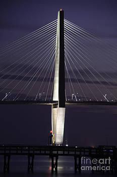 Dale Powell - Ravenel Bridge Night View