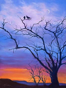 Raven's Chat by Marjie Eakin-Petty