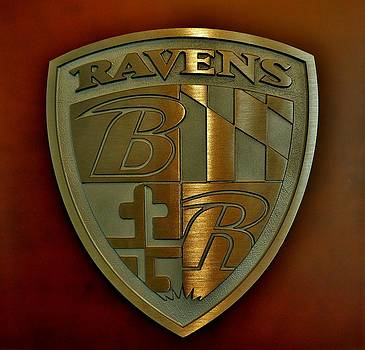 Ravens Coat of Arms by Robert Geary