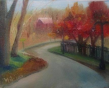 Ravine in Autumn by Maria Milazzo