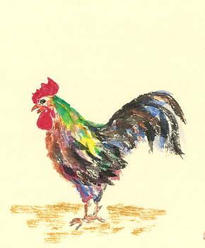 Raving Rooster by Terri Harris