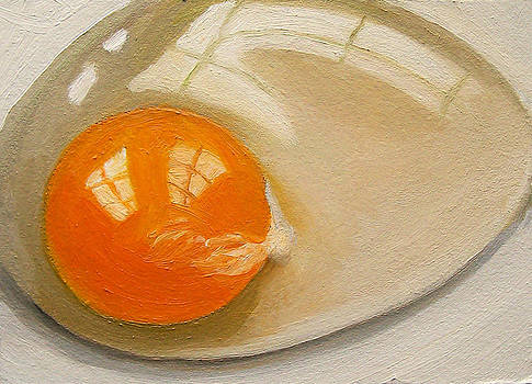Joyce Geleynse - Raw Egg Still LIfe