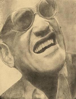 Ray Charles by Glenn Daniels