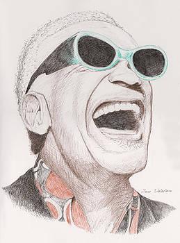 Ray Charles by M Valeriano