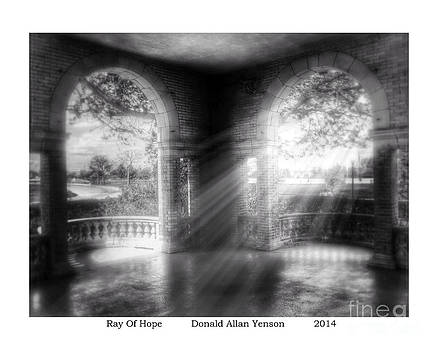 Ray Of Hope by Donald Yenson