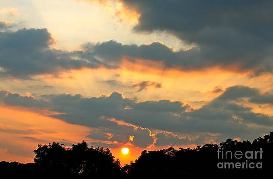 Rays of Sunset by Jay Nodianos