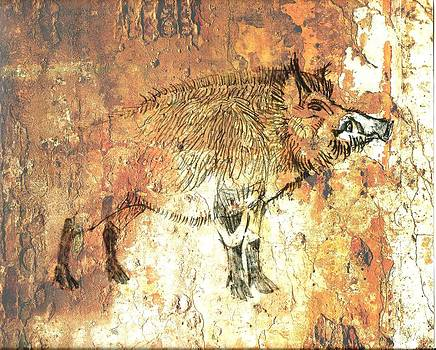 Cave Painting 5 by Larry Campbell