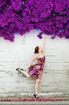 Reaching for the Summer by Viacheslav Savitskiy