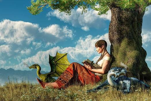 Daniel Eskridge - Reading About Dragons