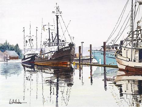 Ready for Albacore Aboard Chena by Bill Hudson