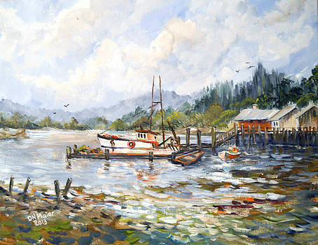 Ready For Fishing Again by Dorothy Maier