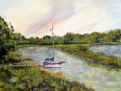 Marsh Morning Sailing by Dorothy Maier