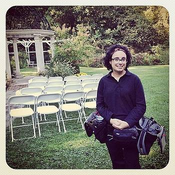 Ready To Shoot The Wedding! by Deirdre Ryan