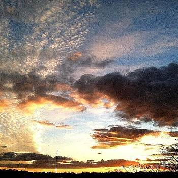 Real Life Painting... :) #reallife #sky by Caitlin Salvitti