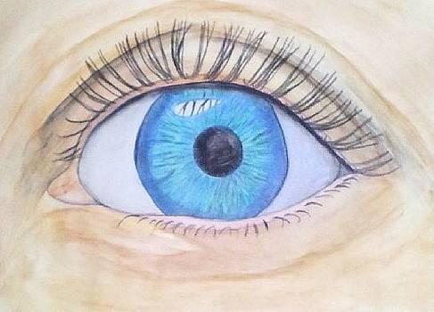 Realistic Eye by Eunice Guevarra