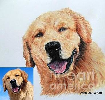 Realistic portraits of animals to order by Danse DesSonges