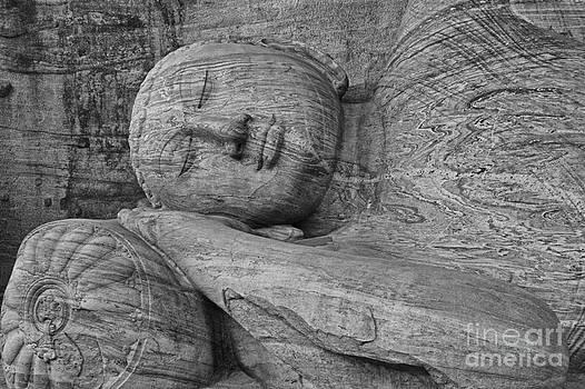 Reclining Buddha 1 by Hitendra SINKAR
