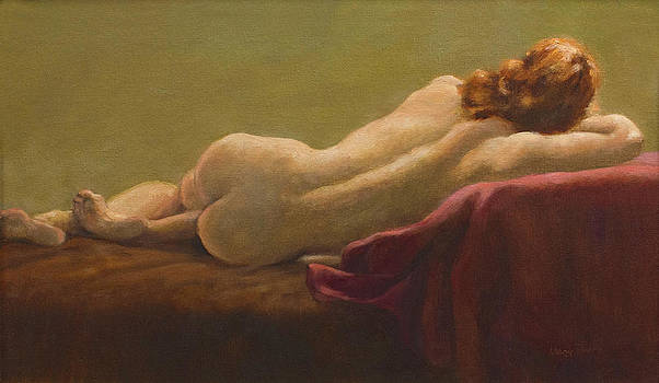 Reclining Nude by Mary Phelps