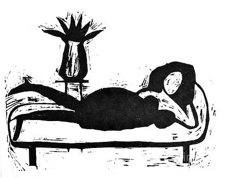 Reclining Woman by Donovan OMalley