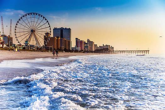 Recreation Beach Sunrise by Kirk Strickland