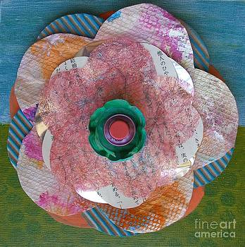 Recycled Flower 2 by Marcella Nordbeck
