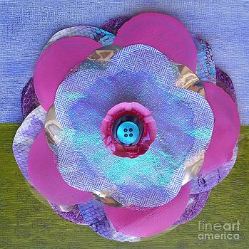 Recycled Flower 3 by Marcella Nordbeck