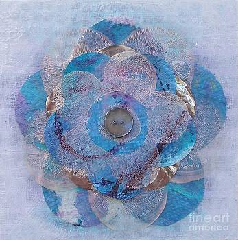 Recycled Flower 4 by Marcella Nordbeck
