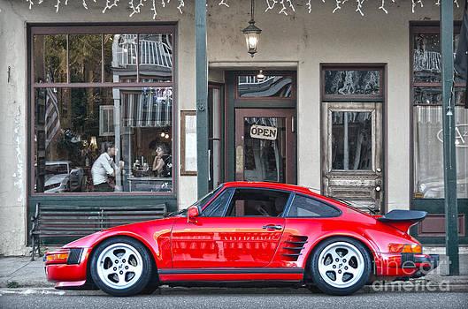 RicardMN Photography - Red 1982 Porsche in Jamestown