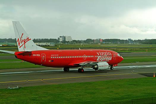 Devinder Sangha - Red Airplane