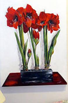 Susan Duxter - Red Amaryllis