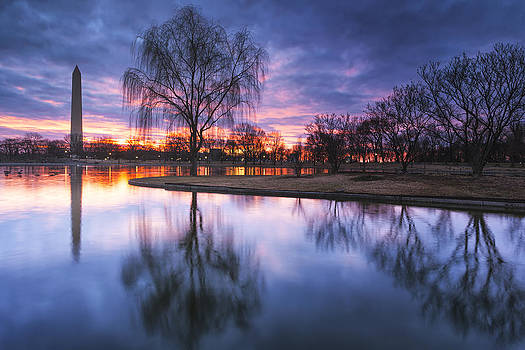 Red And Blue No White by Edward Kreis