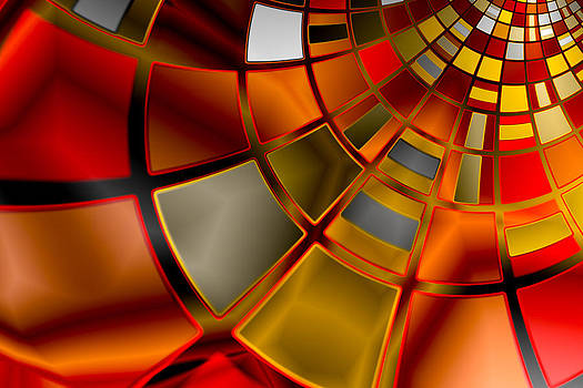 Hakon Soreide - Red and Gold 3