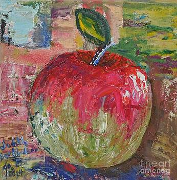 Red and Green Apple - GIFTED by Judith Espinoza