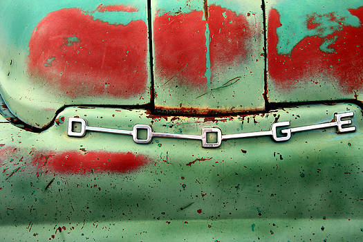 Red and Green Dodge by Steven Bateson