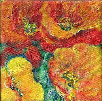 Shan Ungar - Red and Yellow Poppies