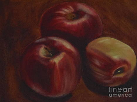 Red Apples by Isabel Honkonen