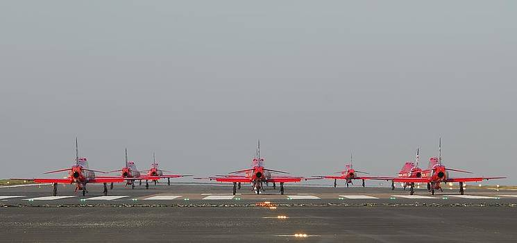 Red Arrows by James Lucas