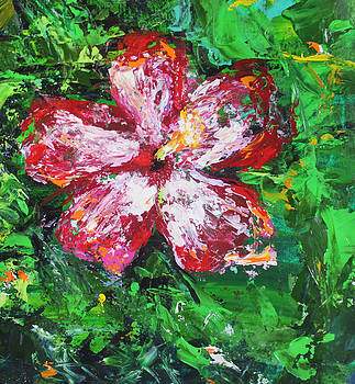 Red Azalea by Kristye Addison Dudley
