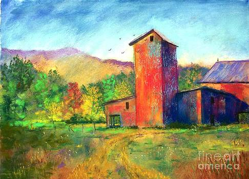Red Barn by Bruce Schrader